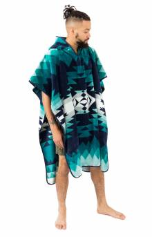 Adult Hooded Towel - Papago Park Turquoise