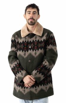 Brownsville Coat - Olive Mix Sonora