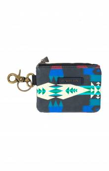 Canopy Canvas ID Pouch Key Ring - Tucson Black