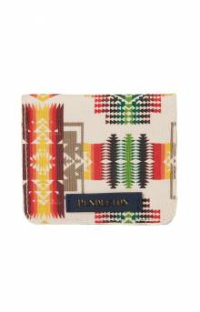Canopy Canvas Snap Wallet - Chief Joseph