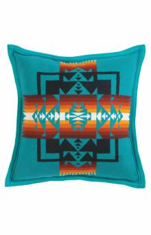 Chief Joseph Duck Fill Pillow - Turquoise