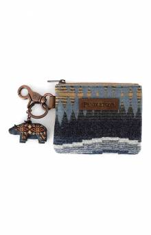 ID Pouch with Bear Keychain - Crescent Bay