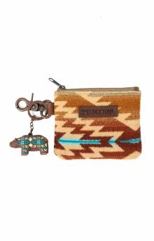 ID Pouch with Bear Keychain - Pagosa Springs