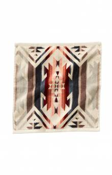 Jacquard Wash Cloth - White Sands Tan