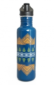Stainless Steel Water Bottle - American Trees