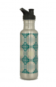 Stainless Steel Water Bottle - Chief Joseph Silver