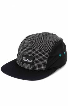 Roxbury 5 Panel Hat - Black