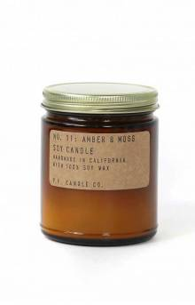 Amber & Moss Soy Candle - 7.2 Oz