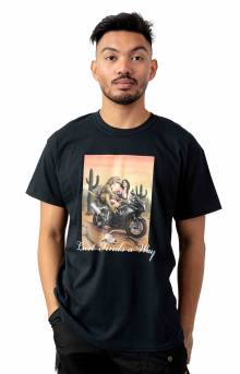 Lust Finds a Way T-Shirt - Black