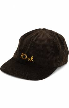Cord 5 Panel Hat - Brown