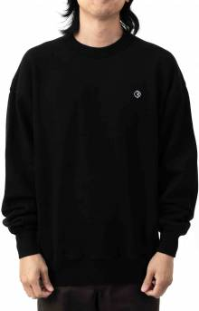 Patch Crewneck - Black