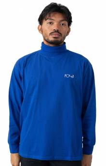 Script Turtleneck - Egyptian Blue