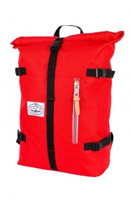 Classic Rolltop Backpack - Red