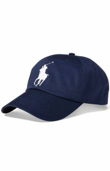 Big Pony Chino Baseball Cap - Newport Navy