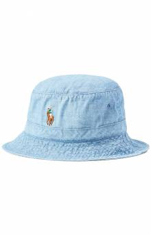 Chambray Bucket Hat - Blue Chambray