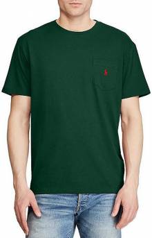 Classic Fit Cotton T-Shirt - College Green