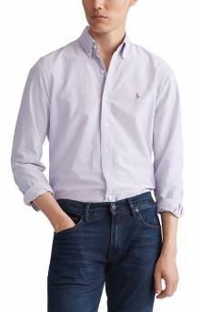 Classic Fit Oxford Shirt - Thistle