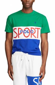 Classic Fit Polo Sport T-Shirt - Kayak Green
