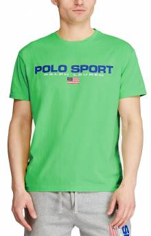 Classic Fit Polo Sport T-Shirt - Neon Green