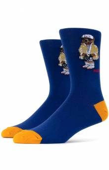 CRPL Bear Slack Socks 2 Pack -  Royal Navy