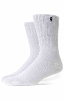 Earth Crew Socks - White