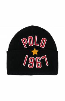 Polo 1967 Watchcap - Black