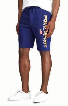 Polo Sport Fleece Shorts - Fall Royal