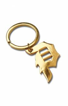 Dirty P Keychain - Gold