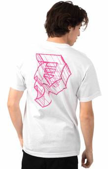 Dirty P Outline T-Shirt - White