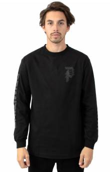 Dirty P Warp L/S Shirt - Black