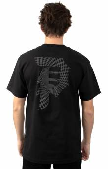 Dirty P Warp T-Shirt - Black