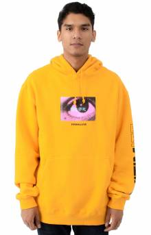 Stare Pullover Hoodie - Yellow