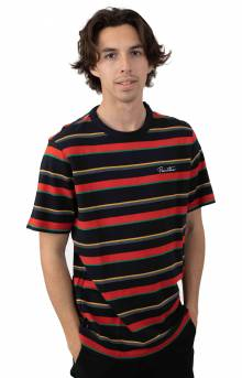 Washed Pique Crew T-Shirt - Multi