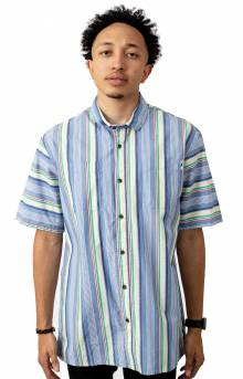 Cal Button-Up Shirt - Blue