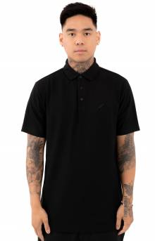 Index S/S Polo Shirt - Black