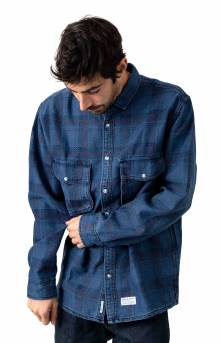 Indo Button-Up Shirt - Blue