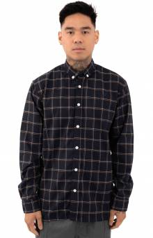 Olin Button-Up Shirt - Navy