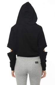 Publish Womens Clothing, Lucia Pullover Hoodie - Black