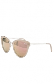 Every Little Thing Sunglasses - Silver/Pink Mirror