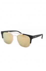 High And Dry Sunglasses - Gold/Gold Mirror