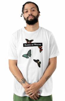 Butterflies T-Shirt - White