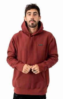 PVC Logo Pullover Hoodie - Congo Red