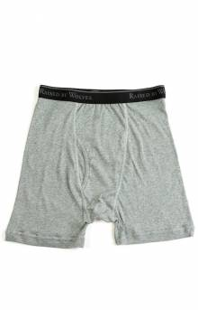 Stanfields Boxers 2 Pack - Grey