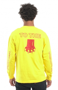 Power To The People L/S Shirt - Yellow