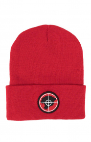 Public Enemy Panther Beanie - Red