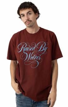 Spencerian T-Shirt - Oxblood