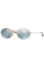(001/30 ) Metal Unisex Sunglasses - Gold/Grey Flash