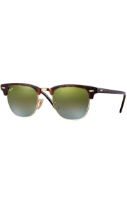 (990/9J) Clubmaster Sunglasses - Shiny Red