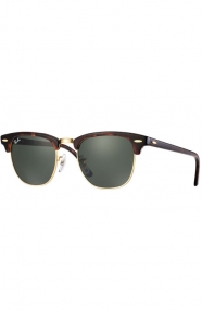 (W0366) Clubmaster Sunglasses - Mock Tortoise