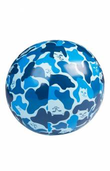 Beach Bum Beach Ball - Blue Camo
